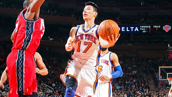 Jeremy Lin...broke the stereotypical image of Asian-Americans