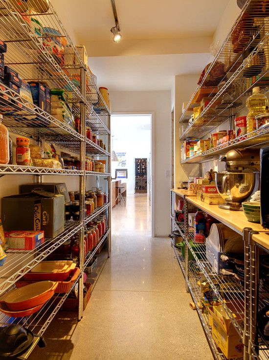 Some Photos Of Cool Pantry Shelves Design As Your Ideas Elegant Stainless Steel