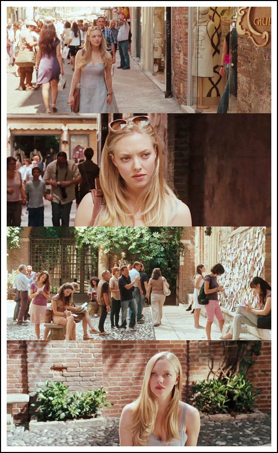 Always liked Amanda Seyfried, and so love Letters to Juliet as well. Made me want to go to Verona someday.. *fingerscrossed*