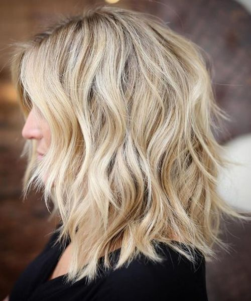 10 Top Shoulder Length Hairstyles – Wavy Hair, Women Medium Haircut 2019