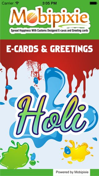 Holi e-cards & #greeting - Happy Holi 2015 Greeting Cards - Holi is the biggest festival of India, Which is celebrated holi 6 march 2015 across the country.