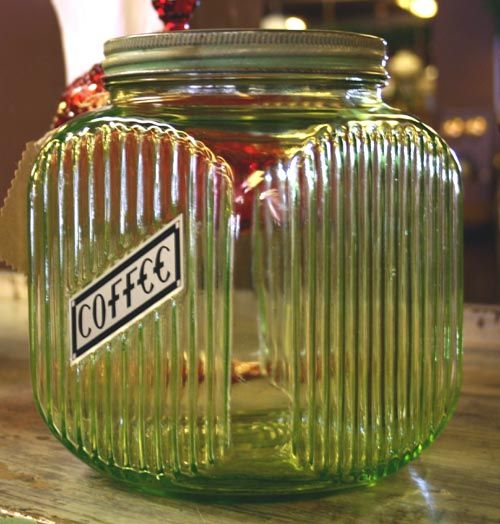 Coffee Jar priced at 115.00 @ this web site for antiques