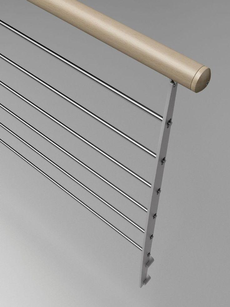 M s de 1000 ideas sobre barandas para escaleras en - Barandas de escaleras de madera ...