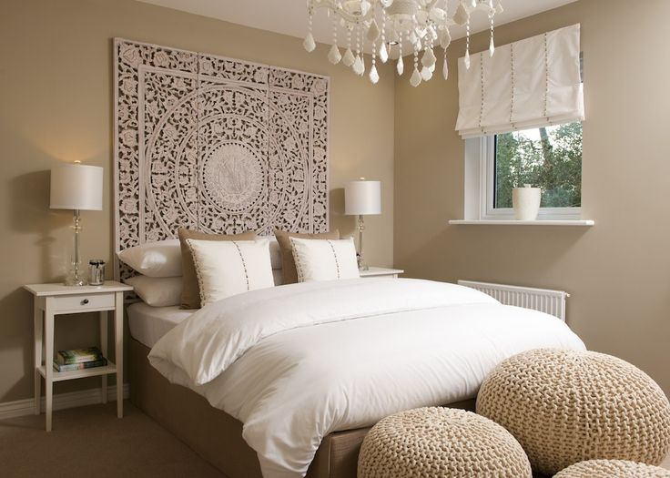 This Barratt home interior design is perfect for those wanting a neutral bedroom oozing sophistication.