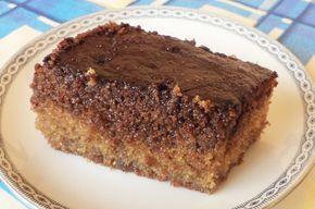 Σοκολατόπιτα με σιμιγδάλι και γιαούρτι - Συνταγές Μαγειρικής - Chefoulis