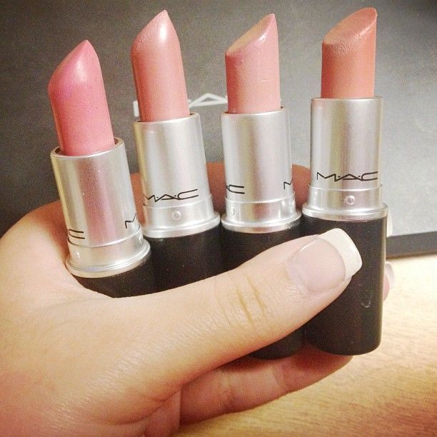 MAC lovelorn, angel, cremecup, and hue