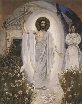 Resurrection - Mikhail Nesterov