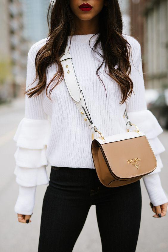 PRADA Pionnière velvet shoulder bag