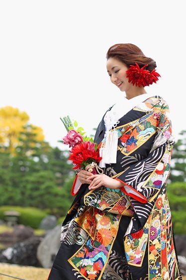 Japanese Wedding kimono Japan