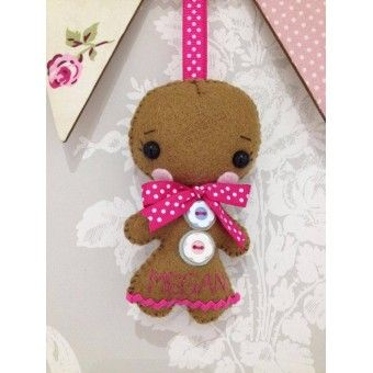 Handmade Personalised Gingerbread Lady