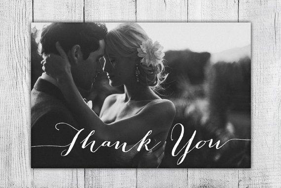 Photo Thank You Card Custom Photo DIY Thank You Card by Blushly