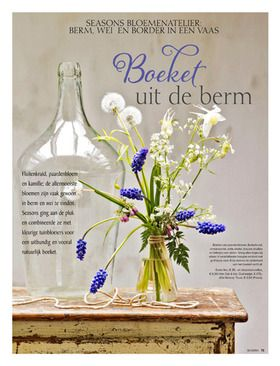 Flower production Seasons.nl, Photographer Alan Jensen, Styling Linda van der Ham, Sanoma media 2014