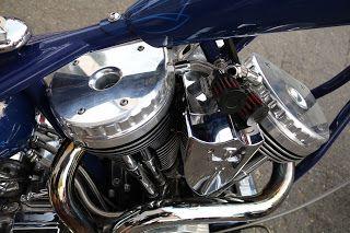 OldMotoDude: Senior's Bike from Orange County Chopper on display at the Washington State Fair -- Puyallup, Wa.