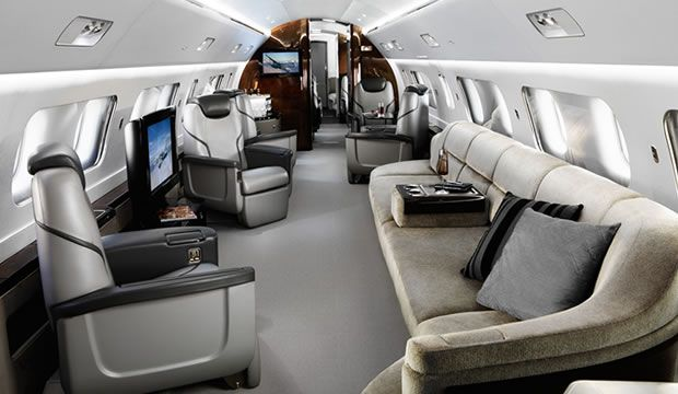 Lineage 1000 ultra large aircraft Interior Highlights