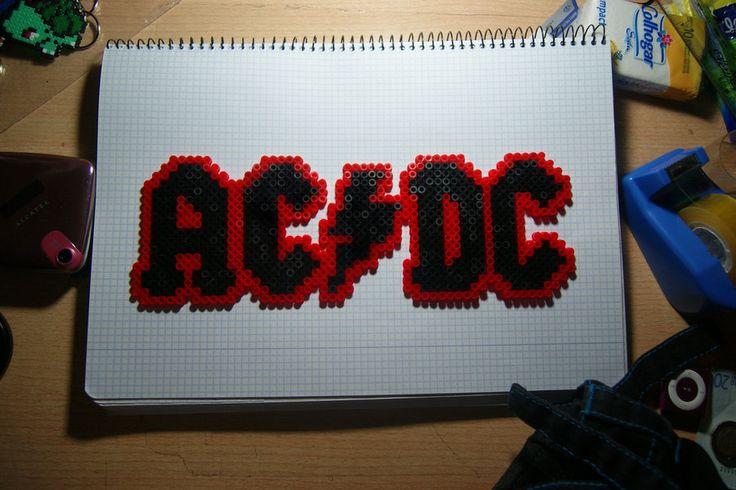 AC-DC perler beads