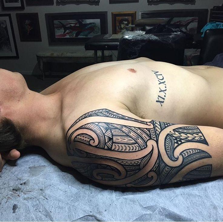 Traditional Ta Moko tattoo done by Thomas #sunsettattoonz www.sunsettattoo.co.nz