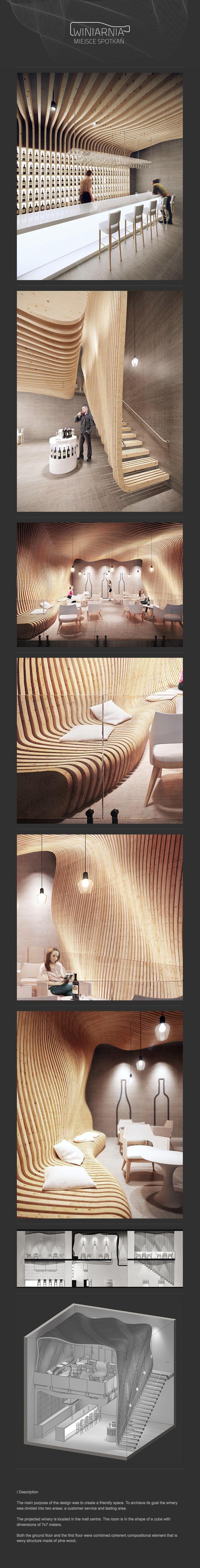 Winery design by Radek Ignaciuk
