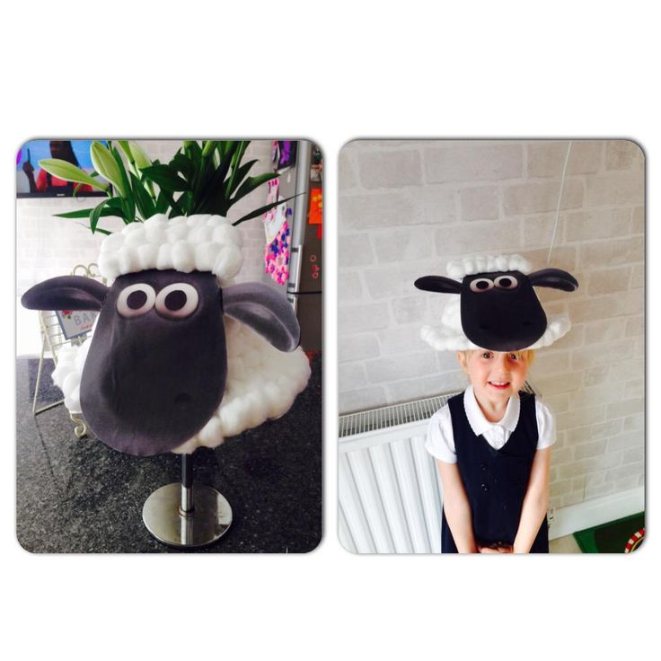 Shaun easter bonnet design sent to us by NicCoulthard on Twitter!