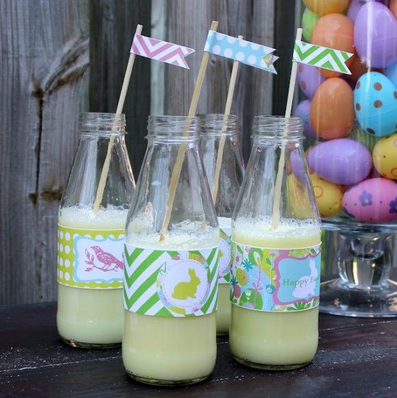 Free Easter party printables! See more party ideas at CatchMyParty.com.