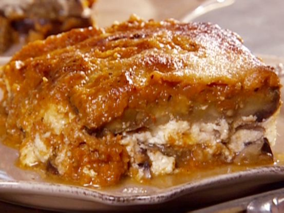 Eggplant Lasagna; was amazing. I added sausage to the recipe and it was wonderful: Dinner, Eggplants, Food Network, Eggplant Lasagne, Healthy Eating, Main Dishes, Eggplant Lasagna, Lasagna Recipes, Veggie
