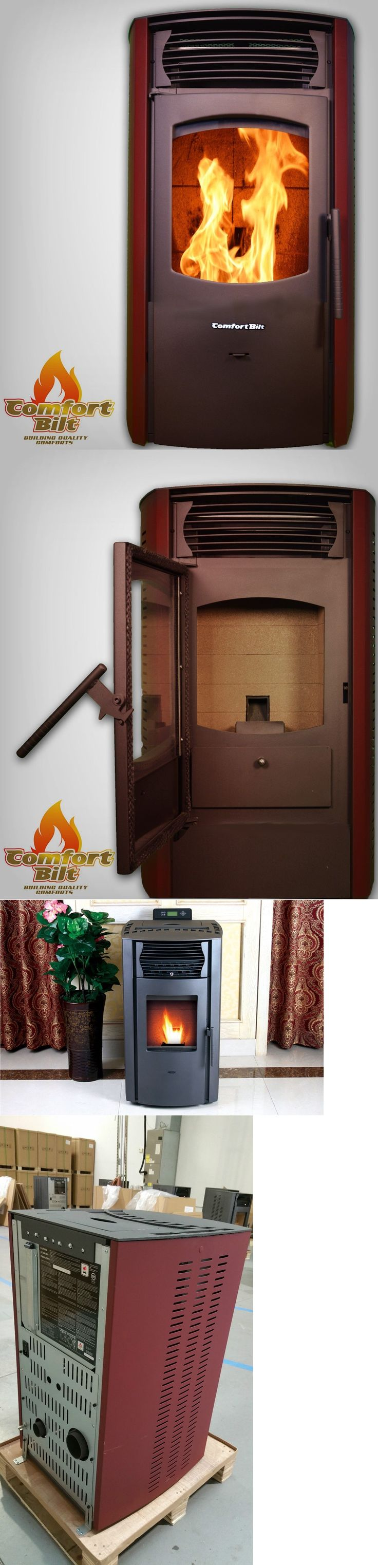 Furnaces and Heating Systems 41987: Comfortbilt Pellet Stove Fireplace 42000Btu -Hp50-Burgundy-Special Price! -> BUY IT NOW ONLY: $1399 on eBay!