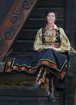 Norwegian traditional dress