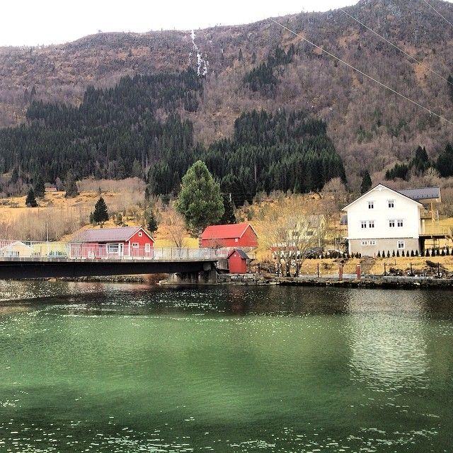 Nordfjordeid, Sogn og Fjordane. #rsa_water #rsa_nature #rsa_water_river #rsa_water_winter #norway #norge #nhoreiseliv #ilovenorway #visitnorway #bestofnorway #Padgram