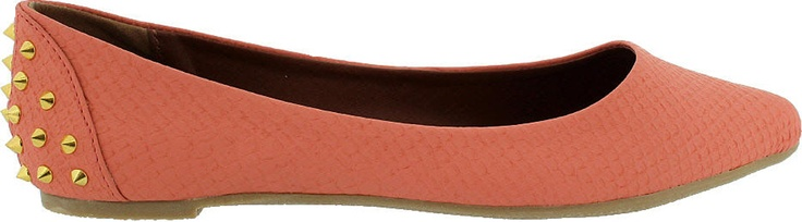 Look out for Rad! This ballet flat features a spike design along the heel; it'll make you stand out from the crowd!