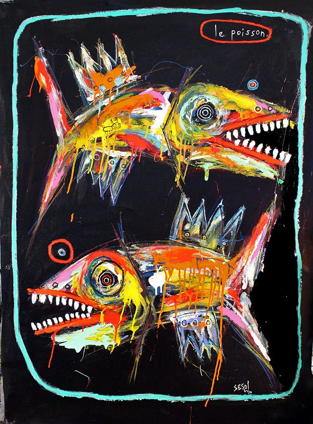 """the fish"" by Matt Sesow"