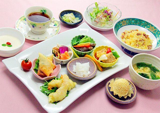 奈良でランチ メニュー 奈良ロイヤルホテル別館 中国料理沙山華(さざんか)