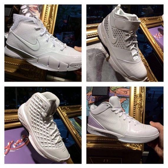 """Nike Kobe """"White Collection"""" 1-4"""