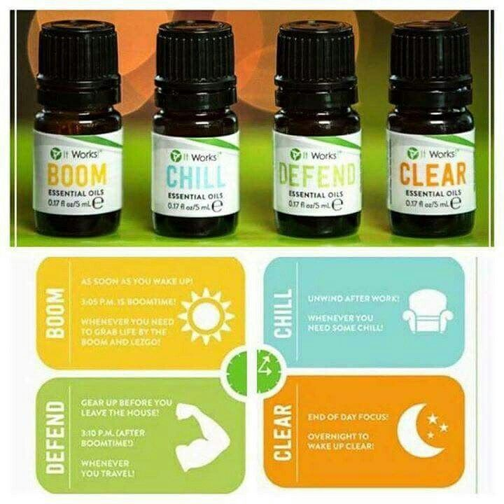 Did you know you can use these Essential Oils right on your skin? www.erinsgreenbiz.myitworks.com