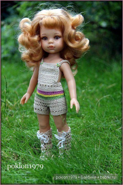 Лето в подарок. Испанские игровые куклы Paola Reina 32 см / Paola Reina, Antonio Juan и другие испанские куклы / Бэйбики. Куклы фото. Одежда для кукол