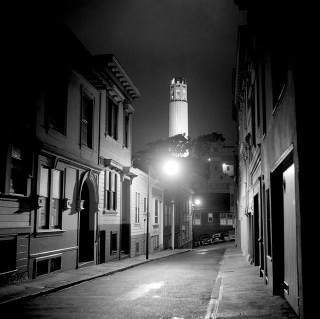 black & white photographs of san francisco from the 1940s and 1950s   fred lyon