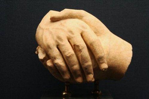 692d2 Athènes, musée Benaki, adieu, stèle funéraire