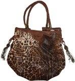 Jessica Simpson Purse Handbag Gia Sand Multi