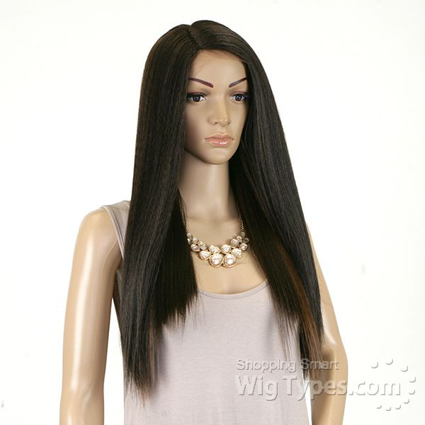 Janet Collection Natural Super Flow Deep Part Lace Wig - SOSIE - WigTypes.com