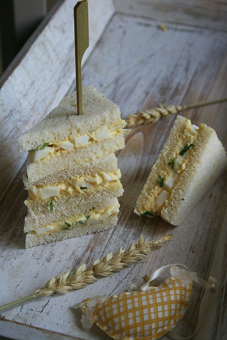 Club sandwich aux oeufs mimosa