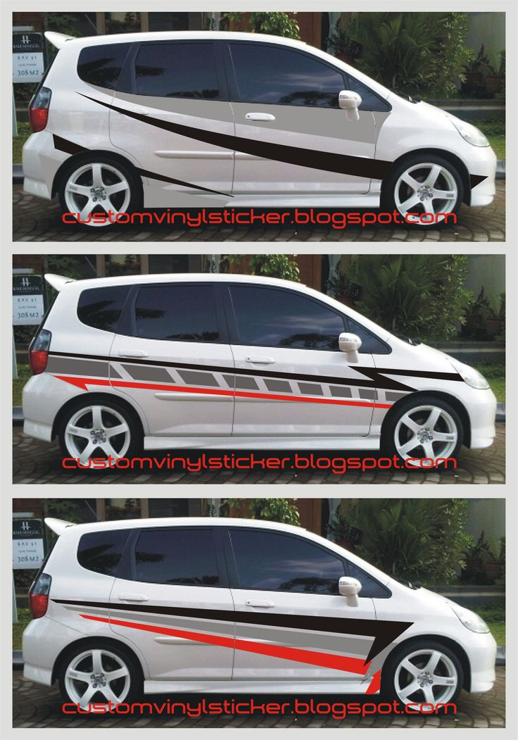 Honda Jazz Simply Sporty Striping Sticker Concept HD Wallpapers Download free images and photos [musssic.tk]