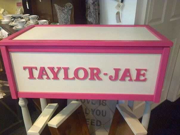 'Hot Pink' is certainly one of our most popular colours for girls toyboxes.