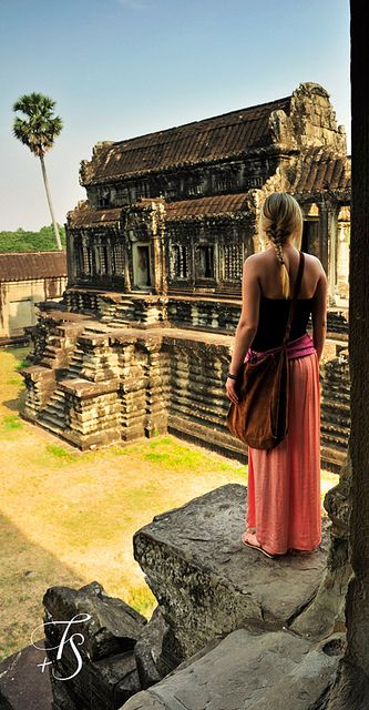Liz...Cambodia..Angkor Wat, Siem Reap,  | Flickr - Photo Sharing!