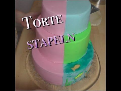 Torte stapeln ohne fondant