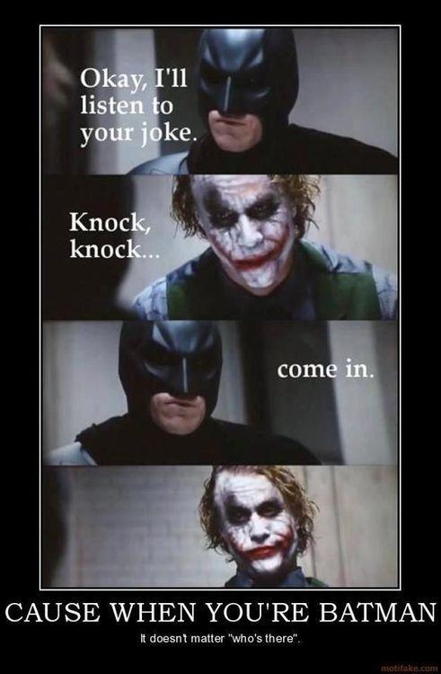 Haha Batman