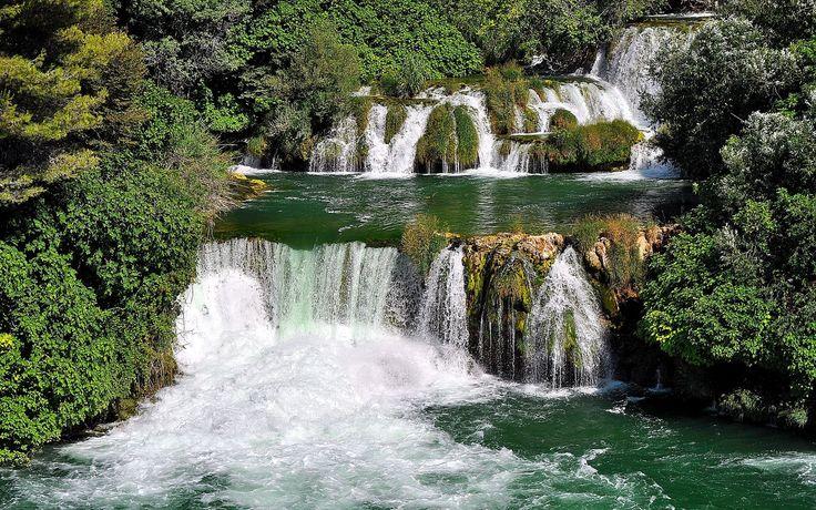 Short waterfalls