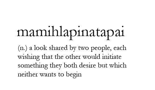 interesting word....