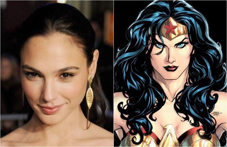 """Gal Gadot será a Mulher Maravilha no filme """"Batman vs. Superman"""" http://cinemabh.com/noticias/gal-gadot-sera-a-mulher-maravilha-no-filme-batman-vs-superman"""
