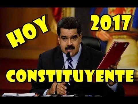 MADURO FIRMA CONVOCATORIA A CONSTITUYENTE Y SENADOR LA RECHAZA, ULTIMA H...