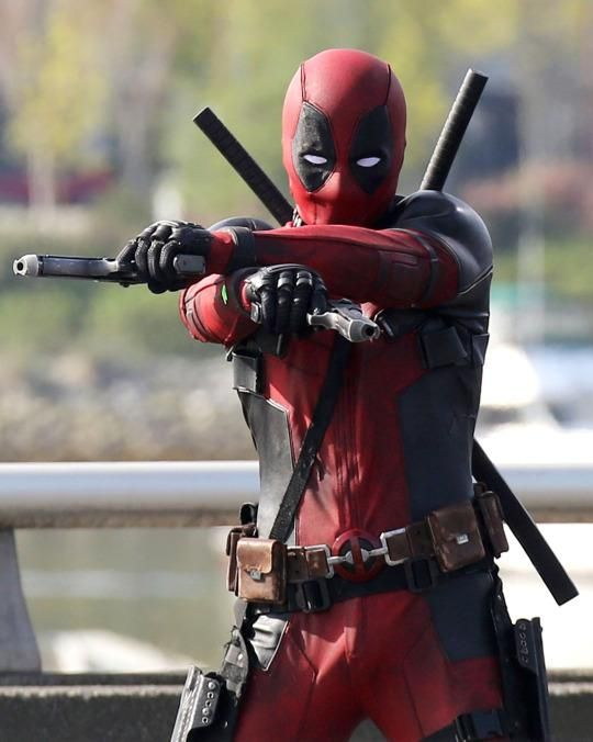 It looks like the 'Deadpool' adaptation will faithfully recreate the character's intense facial scars