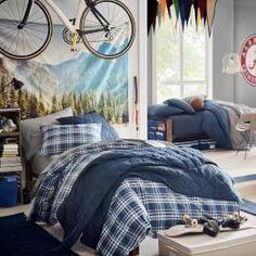 Image result for boys college dorm room ideas