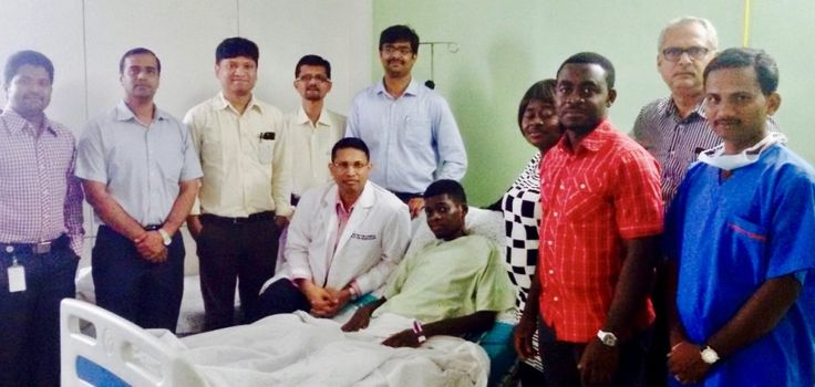 Okelana Mayowa (19) came from Nigeria to CARE Hospitals for treatment of a gigantic tumor in his liver. A team of around 20 medical professionals (comprising Hepatologists, Liver Transplant Surgeons, Critical Care Specialists and Anesthetists) took over 12 hours to perform the complex procedure at CARE Hospitals, Banjara Hills, Hyderabad. The patient was discharged and walked out on September 7, without a trace of the tumor which, incidentally, turned out to be 4 kg in weight.